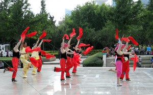 Qingdao Photos Clay Army 8 May 4 Square Dancers